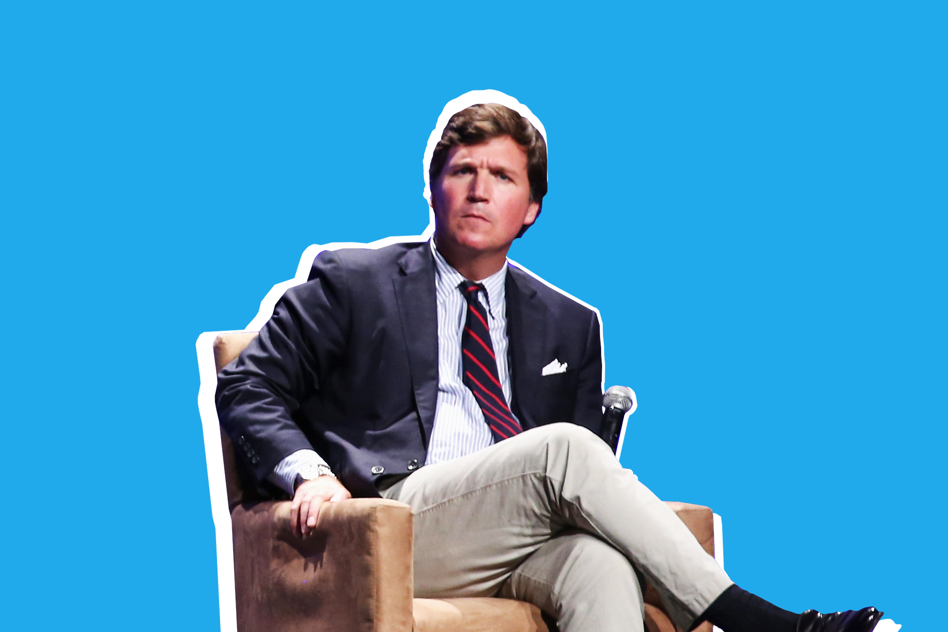 Tucker Carlson on October 21, 2018 in Los Angeles, California.
